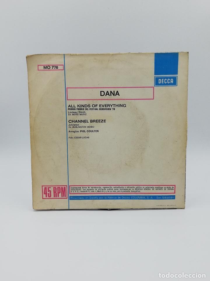 Discos de vinilo: COLECCION SINGLE CANCIONES EUROVISION - Foto 8 - 284158933