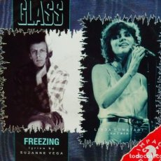 Discos de vinilo: PHILIP GLASS * MAXI VINILO * FREEZING * RARE UK 1986. Lote 284159983