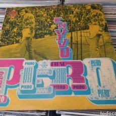 Discos de vinilo: PIERO–EN VIVO. LP VINILO EDICIÓN ORIGINAL DE COLOMBIA. Lote 284100053