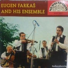 Discos de vinilo: EUGEN FARKAŠ AND HIS ENSEMBLE - CANCIONES FOLK DE SLOVAKIA - EP 5 TEMAS. Lote 284161473