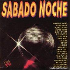 Discos de vinilo: SABADO NOCHE * 2LP *1991 GLORIA GAYNOR / SUGAR HILL GANG / DONNA SUMMER / GRACE JONES / THE JACKSONS. Lote 284162463
