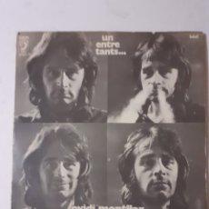 Discos de vinilo: OVIDI MONTLLOR. UN ENTRE TANTS... GATEFOLD. 1972 ESPAÑA. DISCO VG+. CARÁTULA VG. LETRAS.. Lote 284183868
