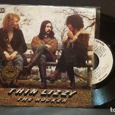 Discos de vinilo: THIN LIZZY THE ROCKER SINGLE SPAIN 1976 PEPETO TOP. Lote 284225538
