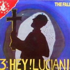 Discos de vinilo: THE FALL * MAXI VINILO * HEY! LUCIANI * UK 1986 * RARE. Lote 284256778