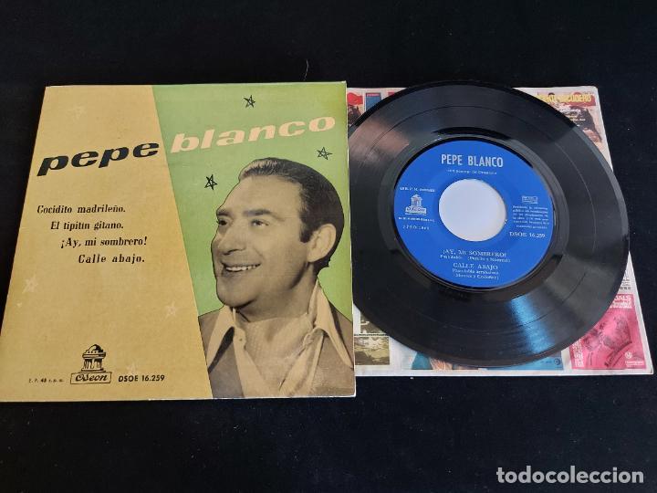 PEPE BLANCO / COCIDITO MADRILEÑO + 3 / EP - ODEON-1959 / MBC. ***/*** (Música - Discos de Vinilo - EPs - Flamenco, Canción española y Cuplé)