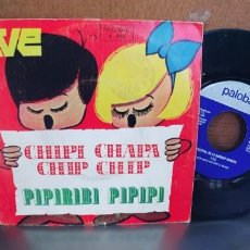 Discos de vinilo: 5º FESTIVAL DE LA CANCION INFANTIL-SINGLE CHIPI CHAPA. Lote 284359698