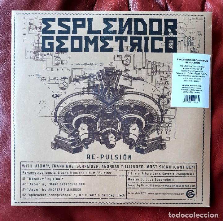 ESPLENDOR GEOMÉTRICO - RE-PULSION 10 PULGADAS EP. LIMITADO (Música - Discos de Vinilo - EPs - Electrónica, Avantgarde y Experimental)