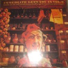 Discos de vinilo: IMMEDIATE LETS YOUIN VOL.2 (IMMEDIATE -1969) OG ALEMANIA ULTRA RARO HUMBLE PIE SMALL FACES. Lote 284457273