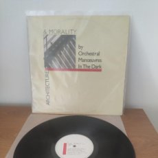 Disques de vinyle: ORCHESTRAL MANŒUVRES IN THE DARK (OMD) - ARCHITECTURE & MORALITY. Lote 284484528