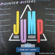 """Disques de vinyle: 12"""" MAXI -POINTER SISTERS – JUMP (FOR MY LOVE) (SOUL -SYNTH POP - DISCO). Lote 284495898"""