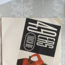Disques de vinyle: SINGLE 49ERS TOUCH ME. Lote 284496528