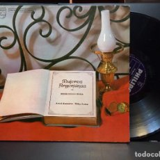 Discos de vinilo: LP MERCEDES SOSA - MUJERES ARGENTINAS - EDICIÓN DE ARGENTINA - DOBLE PORTADA PEPETO. Lote 284532283
