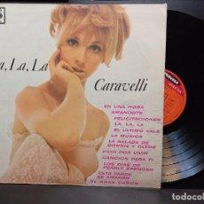 Discos de vinilo: LP ARGENTINO DE CARAVELLI LA, LA .LA CBS FRAVEGA DISCOS PEPETO. Lote 284532938