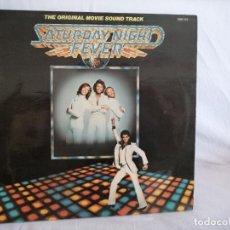 Discos de vinilo: BEE GEES Y OTROS B.S.O. SATURDAY NIGHT FEVER LP DOBLE 1977 DOBLE PORTADA FRANCE,EXCELENTE VER MÁS DE. Lote 284548253