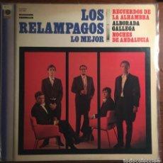 """Discos de vinilo: LOS RELAMPAGOS - """"LO MEJOR"""", LP GRABACIONES ORIGINALES. Lote 284556338"""