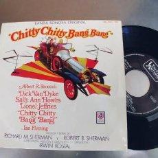 Discos de vinilo: CHITTY CHITTY BANG BANG-EP BSO DEL FILM. Lote 284564258