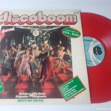 Disques de vinyle: DISCOBOOM LP 1978 DE K-TEL BONEY M GRACE JONES MATIA BAZAR. Lote 284573433
