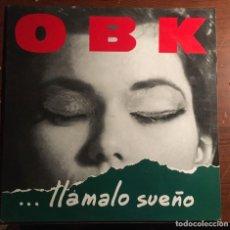 """Discos de vinilo: OBK - """"LLAMALO SUEÑO"""", LP EDICIÓN 1991. Lote 284606378"""