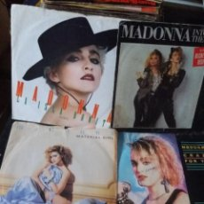 Discos de vinilo: MADONNA 4 SINGLES. Lote 284641003