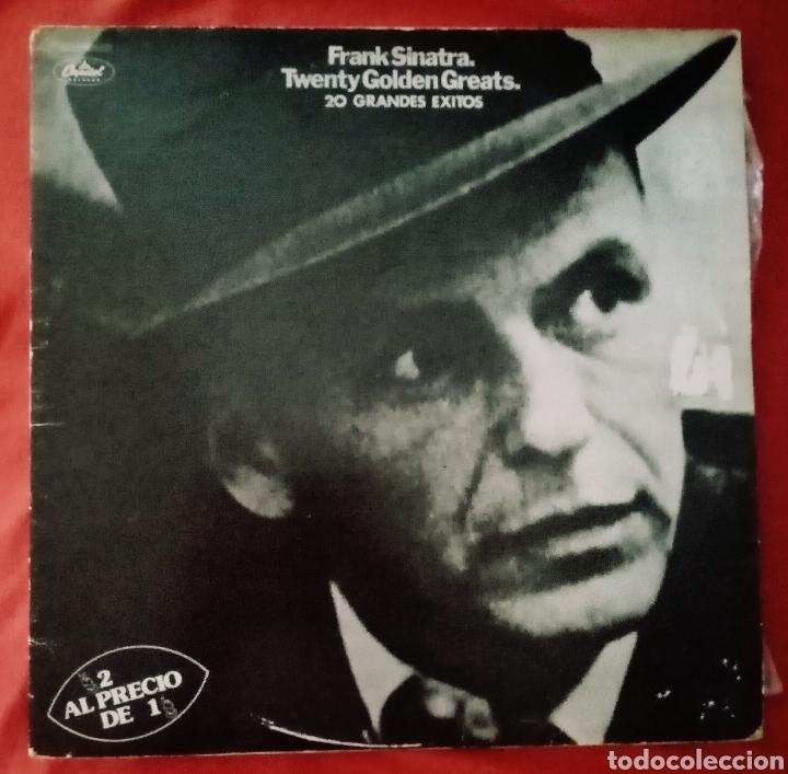 2978 ANTIGUO VINILO LP SPAIN FRANK SINATRA TWENTY GOLDEN GREATS. 20 GRANDES ÉXITOS... (Música - Discos - LP Vinilo - Jazz, Jazz-Rock, Blues y R&B)