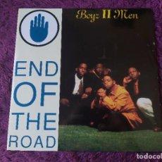 "Discos de vinilo: BOYZ II MEN – END OF THE ROAD, VINYL 12"" 1992 EUROPE 860 065-1. Lote 284744903"