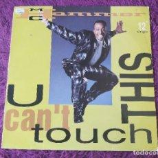 """Discos de vinilo: MC HAMMER – U CAN'T TOUCH THIS, VINYL 12"""", 1990 SPAIN 052-2039116. Lote 284747028"""