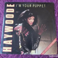 """Discos de vinilo: HAYWOODE – I'M YOUR PUPPET, VINYL 12"""" UK 1987 SYD QT1. Lote 284749158"""