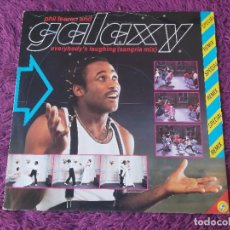 Discos de vinilo: PHIL FEARON & GALAXY – EVERYBODY'S LAUGHING, VINYL MAXI-SINGLE 1984 UK XENY 514. Lote 284753938