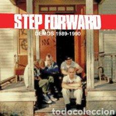 Discos de vinilo: STEP FORWARD–DEMOS 1989-1990.LP VINILO ROJO + LIBRETO. NUEVO.. Lote 284782483