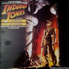 Disques de vinyle: INDIANA JONES AND THE TEMPLE OF DOOM (THE ORIGINAL MOTION PICTURE SOUNDTRACK) - 1984 - ESPAÑA. Lote 284799648