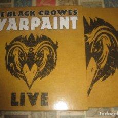 Discos de vinilo: THE BLACK CROWES – WARPAINT LIVE BACK ON BLACK 2014WHITE EDITADO UK LIMITED EDITION. Lote 285045763
