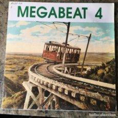 Discos de vinilo: MEGABEAT - MEGABEAT 4 . LP . 1990 MEGABEAT RECORDS. Lote 285047468