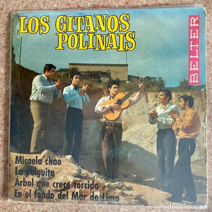 LOS GITANOS POLINAIS (Música - Discos de Vinilo - EPs - Flamenco, Canción española y Cuplé)