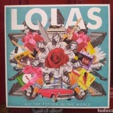 Discos de vinilo: LOLAS–ALL THE POTION IN THE WORLD. LP VINILO NUEVO. POWER POP.. Lote 285052073