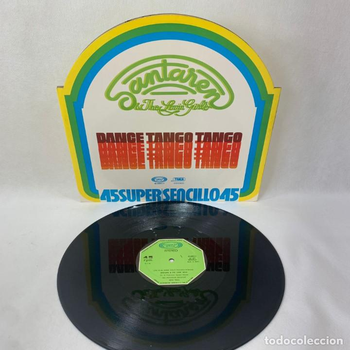 Discos de vinilo: MAXI SINGLE SANTAREN & THE LOVIN GIRLS - DANCE TANGO TANGO - ESPAÑA - AÑO 1977 - Foto 2 - 285058613