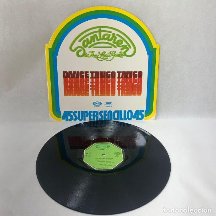 Discos de vinilo: MAXI SINGLE SANTAREN & THE LOVIN GIRLS - DANCE TANGO TANGO - ESPAÑA - AÑO 1977 - Foto 3 - 285058613