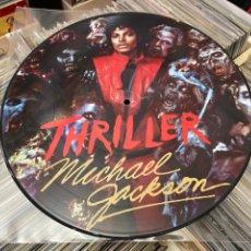Discos de vinilo: MICHAEL JACKSON THRILLER PICTURE LP FOTO DISCO DE VINILO. Lote 285068353