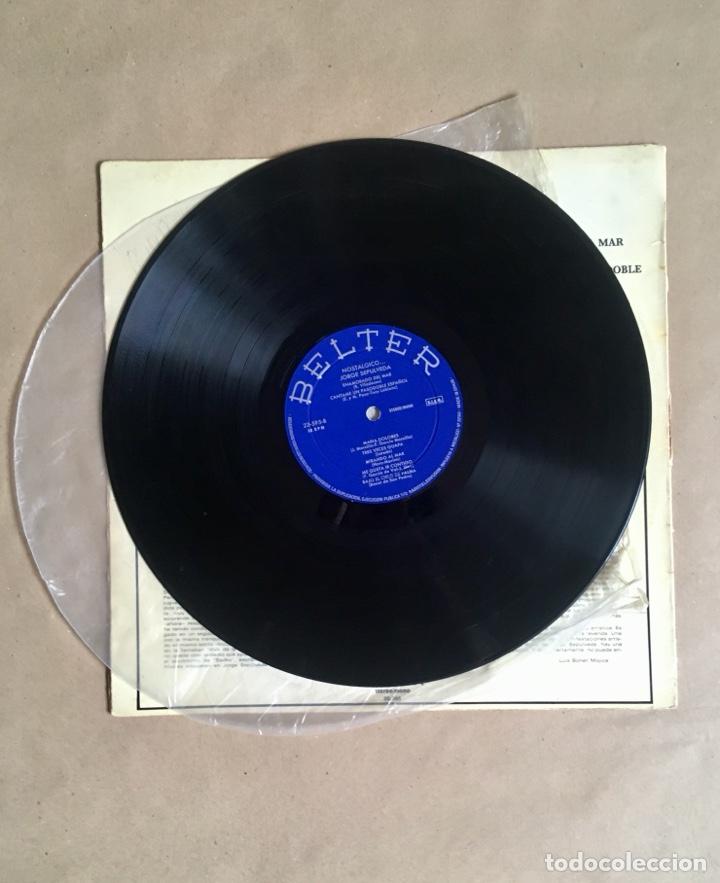 Discos de vinilo: Jorge Sepúlveda Nostálgico (años 70) - Foto 2 - 285098598