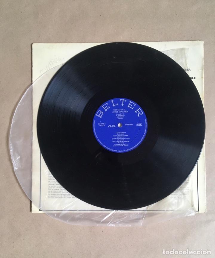 Discos de vinilo: Jorge Sepúlveda Nostálgico (años 70) - Foto 3 - 285098598