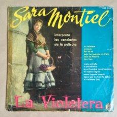 Discos de vinilo: SARA MONTIEL LA VIOLETERA (ORIGINAL AÑOS 60). Lote 285101808