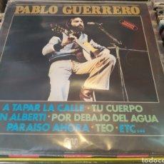 Discos de vinilo: PABLO GUERRERO. LP VINILO EDICIÓN ORIGINAL DE 1980. BUEN ESTADO.. Lote 285103858