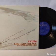 Disques de vinyle: A CUBA - NICOLAS GUILLEN - NUEVA TROVA - LOS SABANDEÑOS. Lote 284832348
