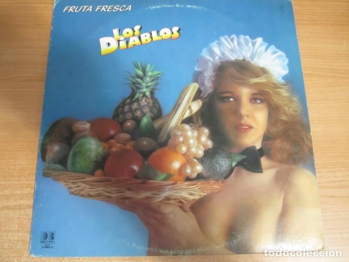 VINILO LOS DIABLOS FRUTA FRESCA (Música - Discos de Vinilo - EPs - Grupos Españoles de los 70 y 80)