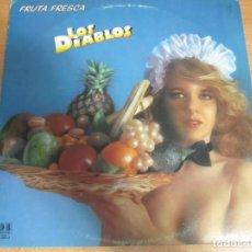 Discos de vinilo: VINILO LOS DIABLOS FRUTA FRESCA. Lote 285114583