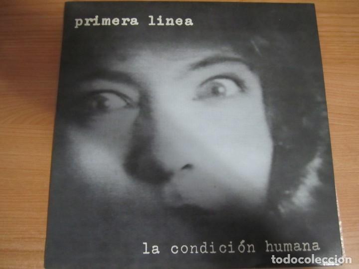VINILO PRIMERA LINEA LA CONDICION HUMANA (Música - Discos de Vinilo - EPs - Grupos Españoles de los 70 y 80)
