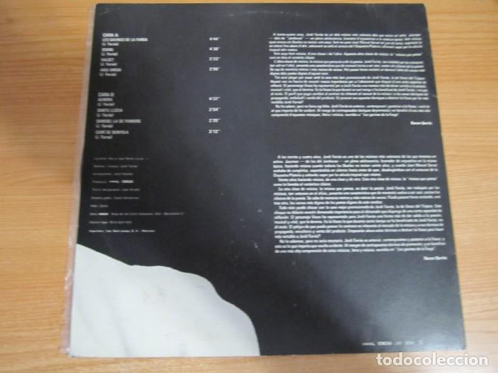 Discos de vinilo: vinilo jordi farras les gavines de la farga - Foto 2 - 285120298