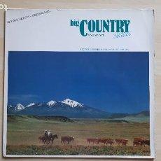 Disques de vinyle: BIG COUNTRY CLASSICS - VOLUME ONE - LP VINILO - TRAX - 1988. Lote 285122828