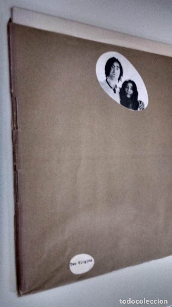 Discos de vinilo: John Lennon & Yoko Ono TWO VIRGINS - Foto 7 - 285133098