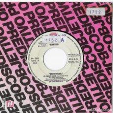 "Discos de vinilo: MONTANA 7"" SPAIN 45 EL RODRIGUEZ 1990 SINGLE VINILO PROMO ROCK & ROLL ROCKABILLY DOBLE CARA A ZAFIRO. Lote 285134373"