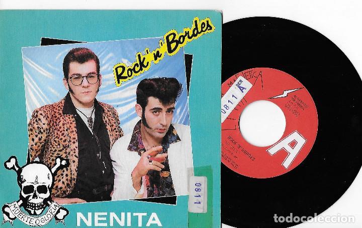 "ROCK´N´BORDES 7"" SPAIN 45 NENITA + TEDDY GIRL 1990 SINGLE VINILO PROMOCIONAL ROCK & ROLL ROCKABILLY (Música - Discos - Singles Vinilo - Rock & Roll)"